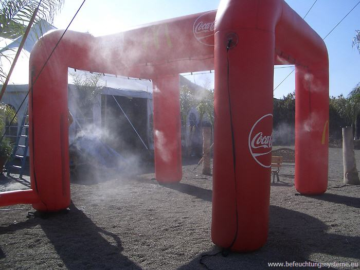 Nebeldusche